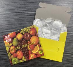 Processus de service alimentaire du ménage de cuisine Clear Poly polyéthylène transparent Gants jetables en plastique PE Main