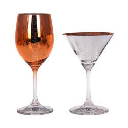 Impressão a cores metálicas vários copos de vinho - Taças Derivava Copos - Stemware