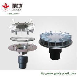 PE сифоны сливного топливопровода/сифон дренажной системы сбора дождевой воды в