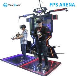 La realtà virtuale del gioco di Saber Vr di battimento mette in mostra la piattaforma