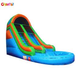 작은 타오물 슬라이드 팽창식 수영장 물 슬라이드 판매