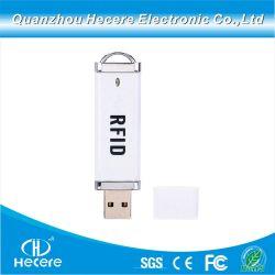 13.56MHz RFID 휴대용 MIFARE IC 카드 리더기(미니 USB 포함 인터페이스