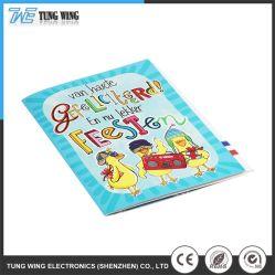 Colorido sonido eléctrico educativos libros de regalo promocional