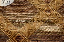 chenille Yarn (FTH31412)의 기하학적인 소파 덮개 직물