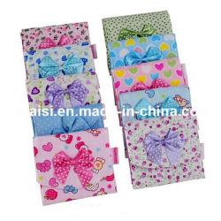 標準的な綿織物の生理用ナプキンのホールダーの札入れ袋の硬貨の財布