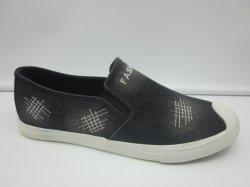 Commerce de gros de la Chine hommes occasionnels chaussures de toile en caoutchouc vulcanisé