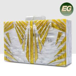 卸売価格Eb907のアクリルのイブニング・バッグの方法クラッチ・バッグ