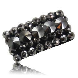 مجوهرات أحذية كريستالية سوداء 2020
