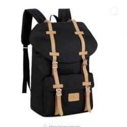 Os homens de Serviço Pesado impermeável personalizado Vintage mochila de lona