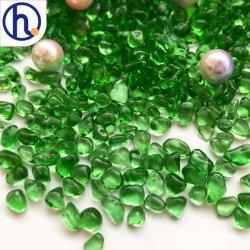 Commerce de gros des perles de verre de couleur irrégulière