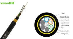 10 Jahre fiberoptische des Hersteller-Zubehör-ADSS 24 Kern-Faser-Optikkabel-