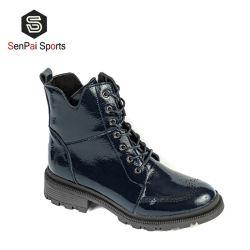 Senhora populares Fashion Alta qualidade de calçado de couro mulheres Inverno Botas Quentes