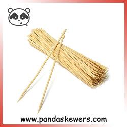 Brochettes de bambou la vaisselle de la vaisselle de la qualité et de bâtons