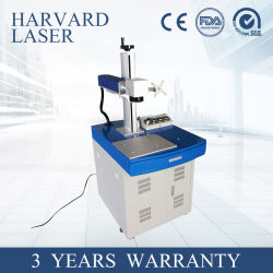 Petite table de l'équipement de marquage laser à fibre/marqueur /Machine pour le métal//roulement de la Coupe du plastique/métal/Non-Metal/bois