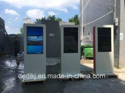 Écran LCD multimédia autonome Totem de la publicité de plein air d'affichage LCD Digital Signage Player Vidéo