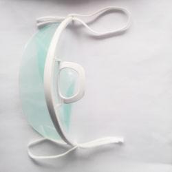 Anti-Fog (AF) Haustier-Film-Lächeln-Mund-Deckel u. Schablone, Antispritzen-mehrfachverwendbare freie Schablone (CM-0101)