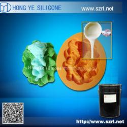 Líquido de borracha de silicone RTV para fazer moldes de brinquedos de resina