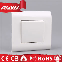 세륨 Approved 12 Years Guarantee Free 1gang Lighting Electric Switch