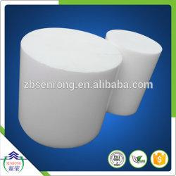 Barra estrusa in teflon bianco (PTFE)