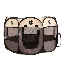 Pop up Pet pliable portable Parc chien chat lit cage maille amovible Shade Cover