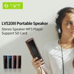 Beweglicher Lautsprecher-RadioMP3-Player mit FM Radio und Alarmuhr-Funktions-Unterstützungs-USB-Platte und TF-Karte