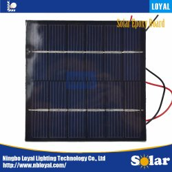 Nach Maß kleine 5V 1W Miniepoxidsolarpanel-Solarzellen für LED-Licht