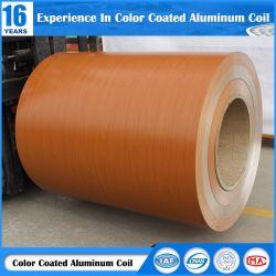 Bobina de Alumínio Liga 3003/3004 revestido de madeira do painel de parede