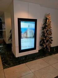 Yashi  muur Opgezette Touchscreen 42 '' LCD Digitale Signage  voor de Reclame van Vertoning