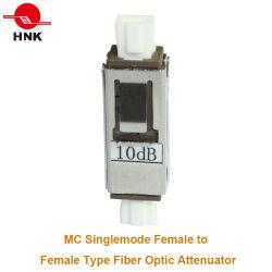 1~30dB Mu Singlemode Wijfje aan de Vrouwelijke Demper van het Type van Adapter