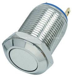 Qn12-B1 IP65 basse tension IP67 bouton du commutateur de métal