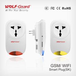 Interruptor da tampa inteligente WiFi com suporte do painel de alarme e GSM WiFi bujão inteligente