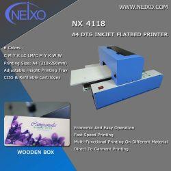 Imprimante multifonction A4 DTG d'impression sur boîte en bois