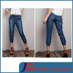 Conexão recortada mulheres Jeans para a Juventude Lady (JC1376)