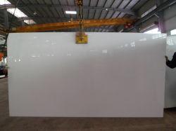 Matériau de construction en marbre blanc Nano cristallisé Carreaux du panneau de verre