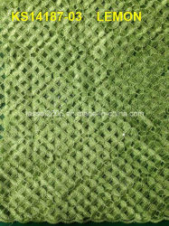 熱いFashion Cord Lace FabricかSnow White Fabric Lace
