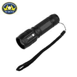 Style Best-Selling 104cm 3AAA Zoom Mini Lampe torche en aluminium