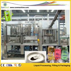 المياه الغازية / شرب الطاقة / المشروبات الغازية يمكن ملء المعدات