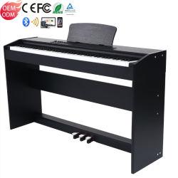 Профессиональный проигрыватель с электронным управлением Bluetooth 88 клавиш молотка действий клавиатуры MIDI Smart взвешенных цифровых фортепиано