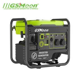 3,85 KW pequeñas Digital eléctrico silencioso Motor AC de Recoil Inicio motor de gasolina de bastidor abierto de soldadura Inverter Portátil Generador de gasolina (GT4000OIE)