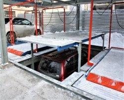 Подземные высокое качество автоматизированной системы парковка в гараже с 2 уровня
