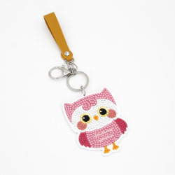 cadeau de promotion prix d'usine personnalisés DIY trousseau de clés à l'acrylique de diamants de l'artisanat