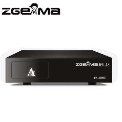 2018 verdoppeln neues 4K UHD Fernsehapparat-Kasten Zgemma H9.2s Satellitenempfänger-Linux OS E2 Doppeltuners des Kern-DVB-S2X+S2X