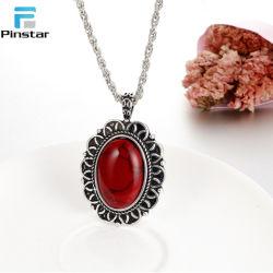 Новые моды различных цветов женщин подвесной ожерелье с жемчугом