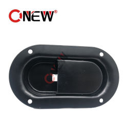 Ficha de fechadura de porta da placa de aço carbono para uso da marquise do gerador a diesel
