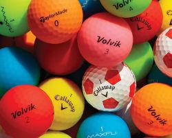 Venta caliente barata moda Logotipo personalizado Emoji Bola de Golf de regalo para promoción