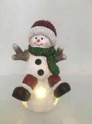 Ornamenti in resina natalizia Snowman per regali natalizi