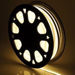 SMD2835 5cm/Cut scaldano l'indicatore luminoso al neon ultra sottile bianco 12V del LED per l'illuminazione di natale esterna