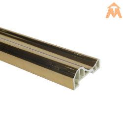 Or/Argent Film PVC métallique pour moulage par panneau intérieur
