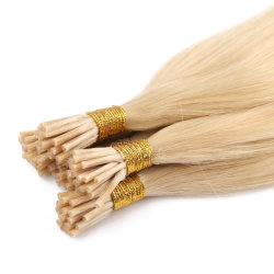 Я наконечник расширений волос №613-русые цвет горячая продажа не пролить Расчесывания китайский прав природных U/гвоздь/Сен Реми с плоским наконечником волос волосы Бразилии