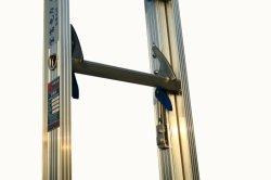 (375lbs) 5m Single-Side en alliage aluminium rainuré Échelle d'extension de rampe